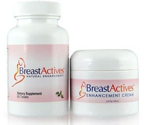 Breast Activers herbal pills and cream